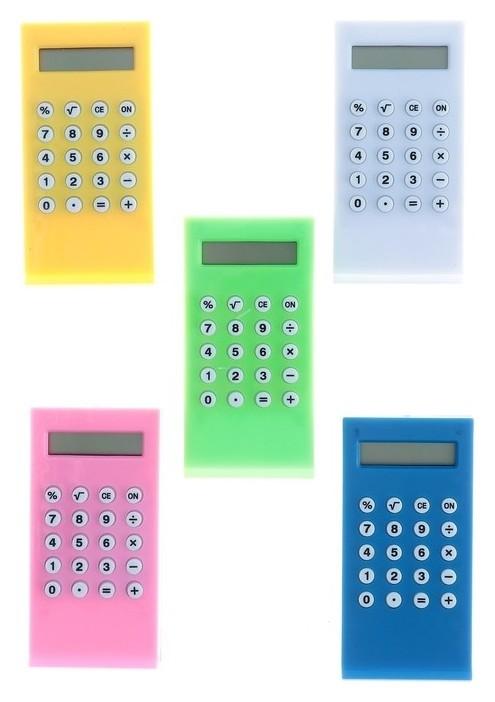 Калькулятор-зажим, 8-разрядный  КНР
