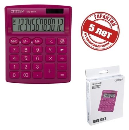 Калькулятор настольный 2-е питание  Citizen