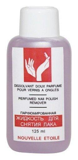 Жидкость для снятия лака Парфюмированная сиреневая  Новая Заря