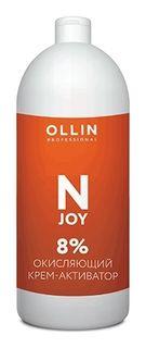 Окисляющий крем-активатор N-Joy 8% OLLIN Professional