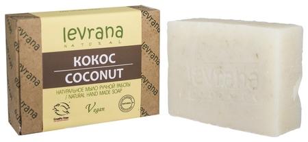Мыло натуральное ручной работы Кокос  Levrana