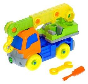 Конструктор для малышей Кран 36 деталей