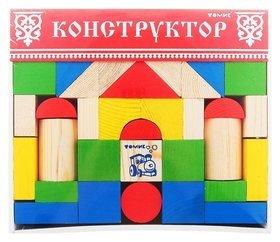 Конструктор Цветной 43 элемента  Томик