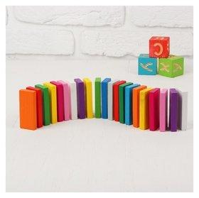 Плашки цветные 28 элементов