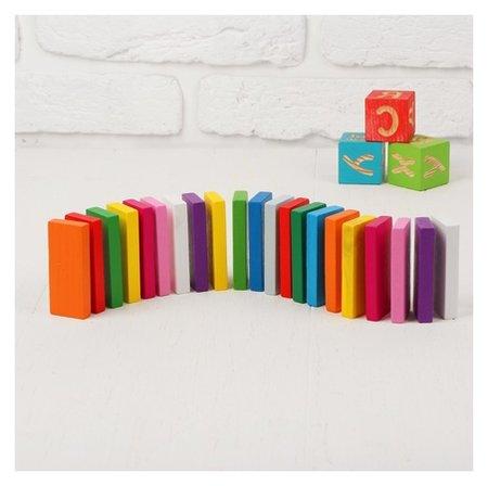 Плашки цветные 28 элементов  Томик