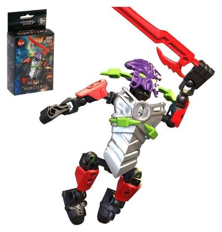 Конструктор-робот Воин Духа 21 деталь  Unicon
