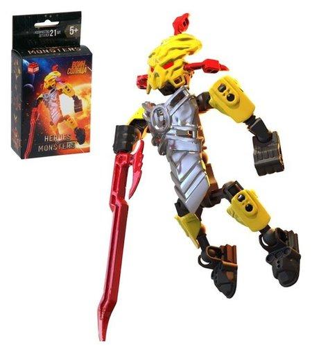 Конструктор-робот Воин Солнца 21 деталь  Unicon