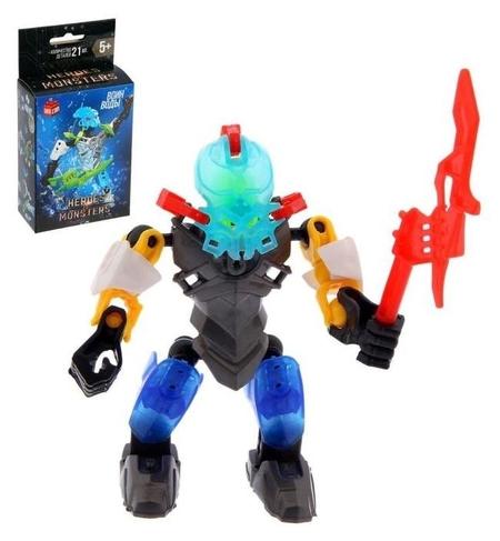 Конструктор-робот Воин Воды 21 деталь  Unicon
