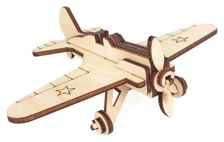 Игрушка-конструктор Военный самолёт И-16  Альтаир