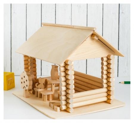 Конструктор модель для творчества Беседка  Pelsi