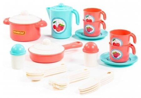 Набор детской посуды Настенька Полесье Детская посуда