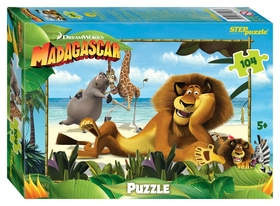 Пазл Мадагаскар - 3  Step puzzle