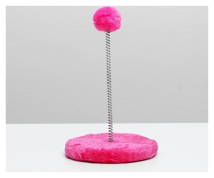 Дразнилка на пружине с шариком, 15 х 26 см, микс цветов  Пижон