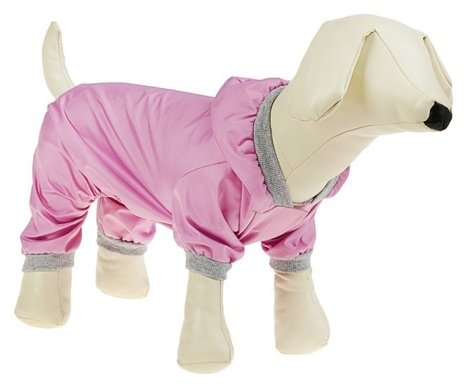 Комбинезон для собак, М (дс - 25 см, ог - 34 см), розовый Compаnion