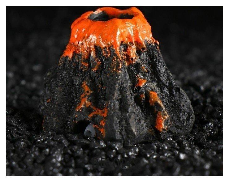 Грот с распылителем Вулкан, 7 х 6,5 х 4,5 см КНР