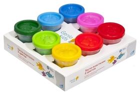 Набор для детской лепки Тесто-пластилин 8 цветов  Genio Kids