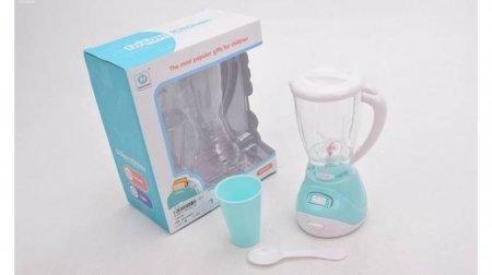 Игрушка Бытовая техника Блендер, стакан и ложка  КНР Игрушки