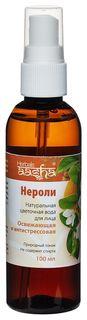 Натуральная цветочная вода Нероли  Aasha Herbals