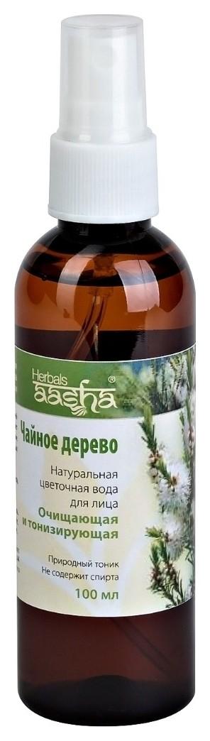 Натуральная цветочная вода Чайное дерево  Aasha Herbals