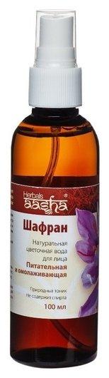 Натуральная цветочная вода Шафран  Aasha Herbals