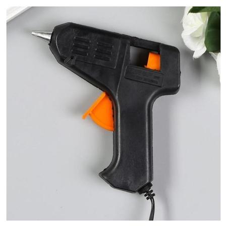 Клеевой пистолет 11х11 см: сетевой, d стержня = 7 мм  Арт узор