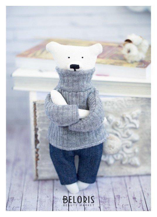 Мягкая игрушка «Домашний медведь Кристиан», набор для шитья, 18 × 22 × 3.6 см Арт узор