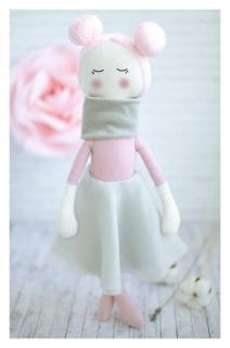 Интерьерная кукла «Амели», набор для шитья, 18 × 22 × 3.6 см  Арт узор