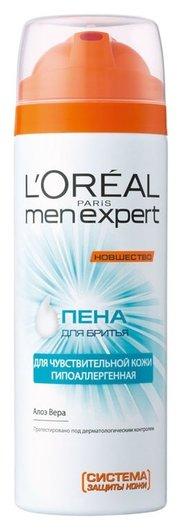 Пена для бритья Men Expert, для чувствительной кожи  L'Oreal