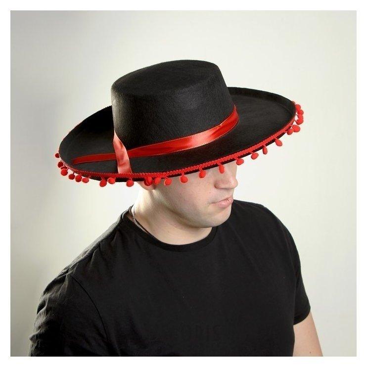 Карнавальная шляпа «Мексика», р-р. 56-58 Страна Карнавалия