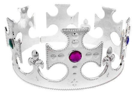 Корона короля, серебристая  Страна Карнавалия
