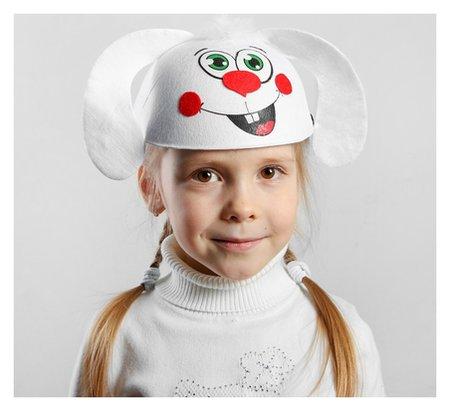 Карнавальная шляпа детская «Зайчик», р-р. 52-54