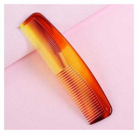Расчёска комбинированная, цвет «янтарный»  Queen Fair