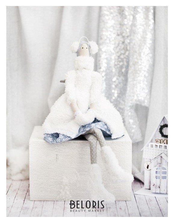Интерьерная кукла «Снежка», набор для шитья, 18 × 22 × 3.6 см Арт узор
