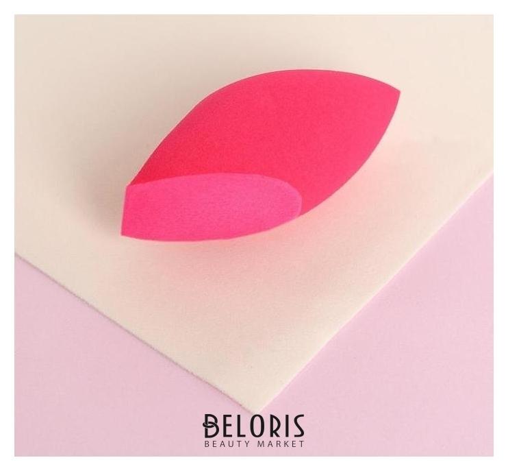 Спонж для нанесения косметики, 7 × 3,5 см, увеличивается при намокании, цвет розовый Queen fair