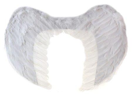 Крылья ангела, 40×35, на резинке, цвет белый  Страна Карнавалия