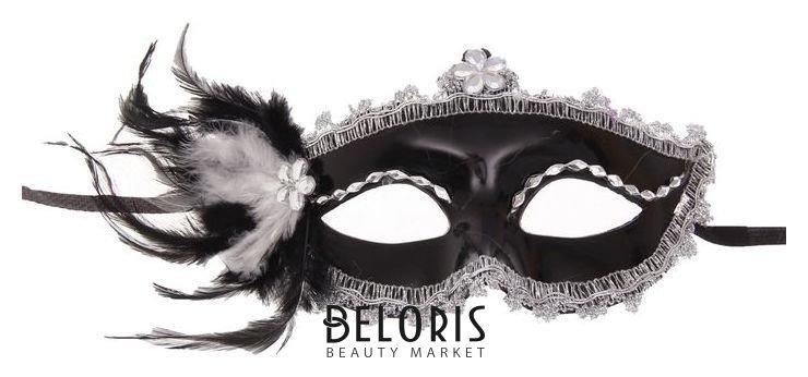Карнавальная маска «Мгла», с перьями Страна Карнавалия