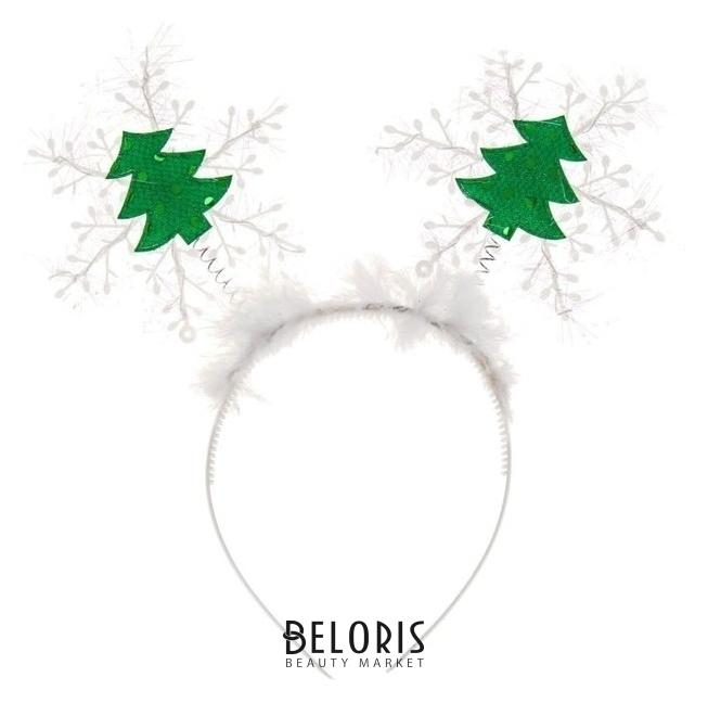 Карнавальный ободок «Снежинка с ёлочками» Страна Карнавалия