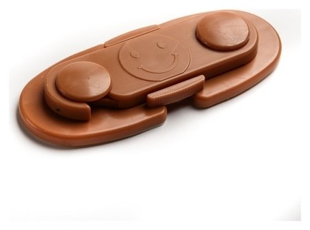 Блокиратор для дверей шкафов, цвет коричневый  Крошка Я