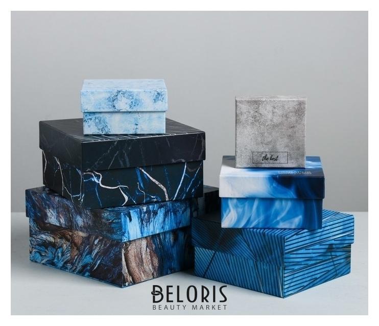 Набор подарочных коробок 6 в 1 «Цвет настроения», 8 × 8 × 4.5‒18 × 18 × 9.5 см Дарите счастье