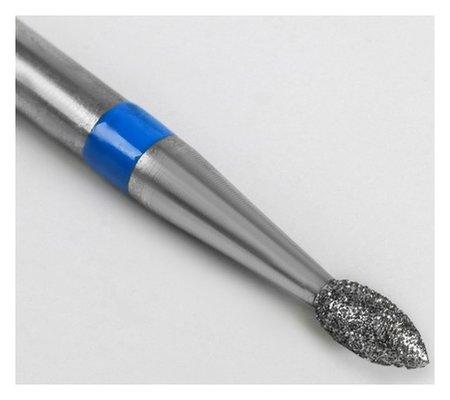 Фреза алмазная для маникюра «Пламя», средняя зернистость, 2,1 × 4,5 мм  Queen Fair