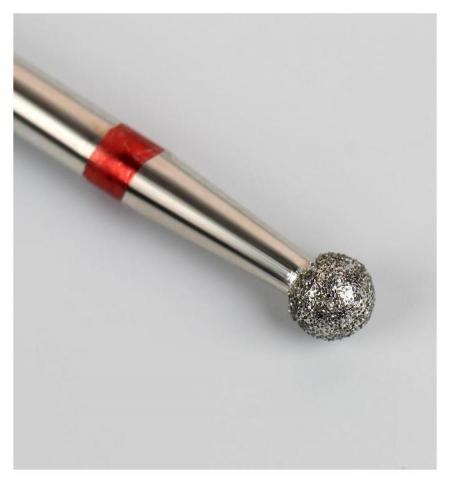 Фреза алмазная для маникюра «Шар», мелкая зернистость, 3,1 мм Queen fair
