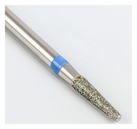Фреза алмазная для маникюра «Усечённый конус», средняя зернистость, 2,3 × 10 мм  Queen Fair