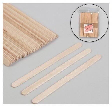 Шпатели для депиляции, деревянные, 14 × 1 см, 50 шт  Queen Fair