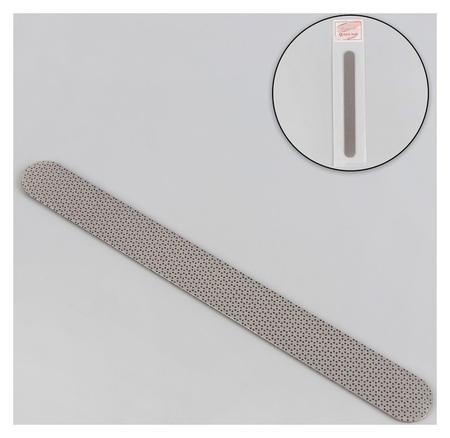 Пилка лазерная для ногтей, 17,5 см, цвет серый  Queen Fair