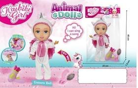 Кукла-единорог музыкальная с гибкими суставами