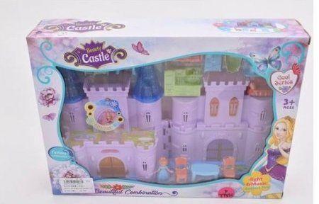Дворец с мебелью и куклой КНР Игрушки