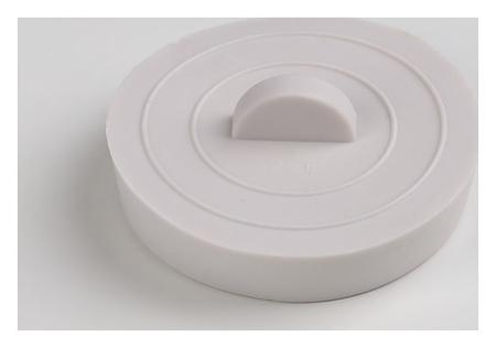 Пробка для ванны, D = 5,3 см  Доляна