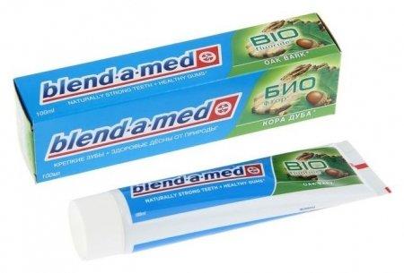Зубная паста Blend-a-med Био фтор: кора дуба, 100 мл Blend-a-med