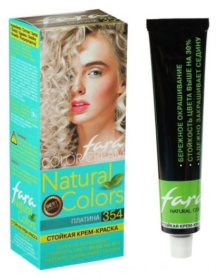Краска для волос Natural Colors 354 платина  Fara