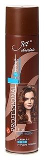 Лак для волос Chocolate Flexible Maxi Ультрасильная фиксация Jet